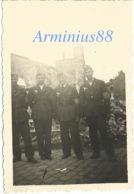 """Campagne De France 1940 - Amiens - Peinture Publicitaire """"Antar L'huile De France"""" - Westfeldzug - Wehrmacht - Luftwaffe - Guerre, Militaire"""