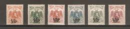 1920.Albania. Skanderbeg. Overprint. Set  ** / Signed - Albania