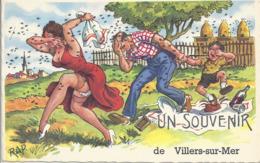 CPA Villers-sur-Mer Humour Illustrateur Rap - Villers Sur Mer