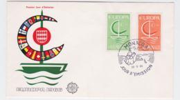 Monaco 1966 FDC Europa CEPT (G102-44) - 1966