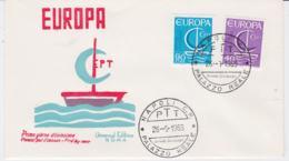 Italy 1966 FDC Europa CEPT (G102-42) - Europa-CEPT