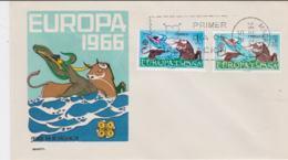 Spain 1966 FDC Europa CEPT (G102-42) - Europa-CEPT