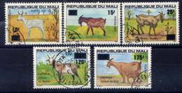 MALI - 494/498° - ANIMAUX - Mali (1959-...)