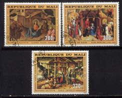 MALI - A286/288° - TABLEAUX RELIGIEUX - Mali (1959-...)
