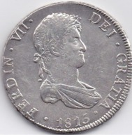 BOLIVIE - FERDINAND VII - 8 Reales 1815 PST - Bolivie