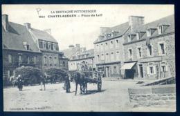 Cpa Du 22 Chatelaudren Place Du Leff   LZ127 - Châtelaudren