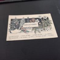 Carte Postale DECEMBRE NOEL RECOMPENSE en L Etat Sur Les Photos - Christmas