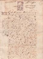 E6391 CUBA SPAIN 1869 VENTA INGENIO ECONOMIA SUGAR MILLS - Historical Documents