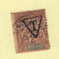 Timbre Nouvelle-Calédonie Taxe N° 1A Oblitéré - Portomarken
