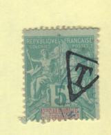 Timbre Nouvelle-Calédonie Taxe N° 1B Oblitéré - Portomarken