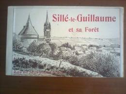 72 SILLE LE GUILLAUME  Et Sa Foret  -  CARNET DE 12 VUES  - - Sille Le Guillaume