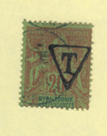 Timbre Nouvelle-Calédonie Taxe N° 4 Oblitéré - Portomarken
