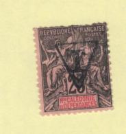Timbre Nouvelle-Calédonie Taxe N° 5 Oblitéré - Portomarken