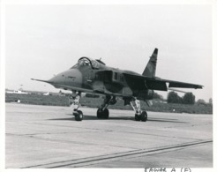 Grande Argentique Original Sepecat Jaguar A Avion Aviation Militaria Sol Fly - Luftfahrt