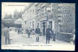 Cpa Du 22 Chatelaudren Rue De La Mairie   LZ127 - Châtelaudren