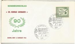ALEMANIA FDC BONN 1966 EUROPA CEPT - Europa-CEPT