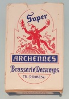 Jeux De Cartes Complet Brasserie DECAMPS  ARCHENNES 54 CARTES - 54 Cards
