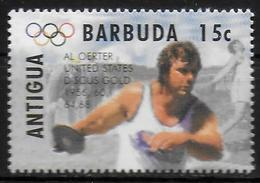 ANTIGUA  N° 1850  * *   Jo 1996 Lancer Du Disque - Athlétisme