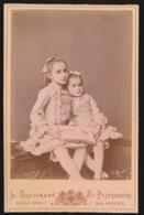 FOTO +- 1870 16.5 X 10.5 CM - FOTOGRAAF  L.GROSSMAN   ST.PETERSBURG    - 2 SCANS - Foto's