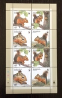 Armenia 2001; WWF; Wildlife; Fauna & Animals; Mammals; Rodents, Squirrels; MNH / Neuf** / Postfrisch; High Value!! - Armenia