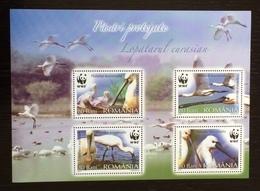 Romania 2006; WWF Animals & Fauna; Wildlife Birds; MNH VF** - W.W.F.