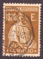 """Portugal 1930-  """" Ceres """" Gravura Retocada 1$20 - 1910-... République"""