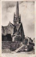 29 SIZUN L'église, Le Clocher-porche Est Surmonté D'une Flèche Très élancée à Quatre Clochetons 1723-1735 - Sizun