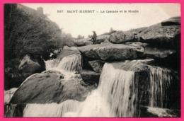 St - Saint Herbot - La Cascade Et Le Moulin - Petit Garçon - Animée - Collection VILLARD - Saint-Herbot