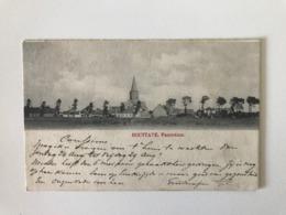 HOUTAVE -Houttave - Panorama -  Zuienkerke - Kerk, Zuid-Westkant Gelopen 1902 Naar Avelghem - Zuienkerke
