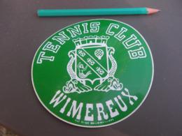 Autocollant - Ville - WIMEREUX - TENNIS - Stickers