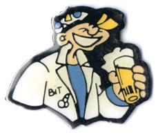 Pin's étudiant Faluche Penne Belgique - Belgique - Zizi Bière - Associations