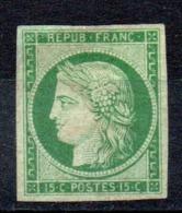A SAISIR - YT N° 2 - Neuf Sans Gomme - Cote: 10000,00 € - 1849-1850 Ceres