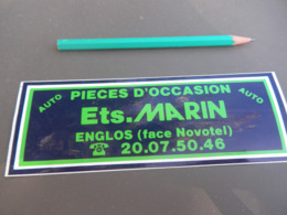 Autocollant - Ville - ENGLOS - MARIN - Stickers