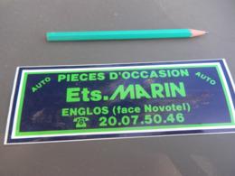 Autocollant - Ville - ENGLOS - MARIN - Pegatinas