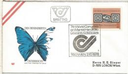 AUSTRIA FDC 1978 CONGRESO SALUD MENTAL HEALTH ENFERMEDAD - Enfermedades