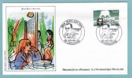 FDC France 1984 - Personnages Célèbres - Jean Zay - YT 2329 - 45 Orléans - FDC