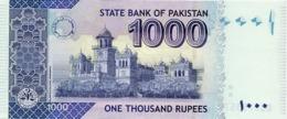 Pakistan UNC Banknote, Re.1000/-, Ashraf Vithra Signature, Year 2016-LS - Pakistan