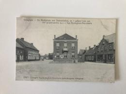 Ichtegem - De Marktplaats Met Gemeentehuis En Huis Van Gespellewerkte Kan Van Ryckegem-Masschaele , Kantenkoopman 22471 - Ichtegem