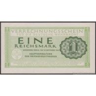 TWN - GERMANY M38 - 1 Reichsmark 15.9.1944 No Serial UNC - Verrechnungsscheine - Dt. Wehrmacht