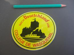 Autocollant - Ville - WASQUEHAL DEUTSCHLAND - Stickers