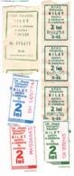 Moldova , Moldavie , Chisinau ,  Trolley  Bus  Ticket , Used - Otros