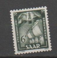 SARRE           N°  YVERT  :   285   NEUF AVEC  CHARNIERES      ( Ch 016    ) - Neufs