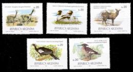 (040) Argentina / Argentine   Birds / Oiseaux / Animals / Animaux / Tiere  ** / Mnh  Michel 1706-10 - Argentinien