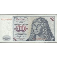 TWN - GERMANY, FEDERAL REPUBLIC 31b - 10 Deutsche Mark 1.6.1977 CG 1278588 C VF - [ 7] 1949-… : FRG - Fed. Rep. Of Germany