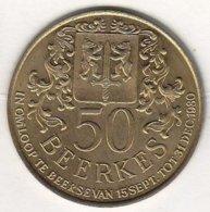 50 BEERKES 1980 BEERSE-VLIMMEREN - Tokens Of Communes