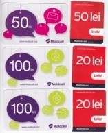 Moldova , Moldavie  Moldau , Prepaids  Phonecard - Moldcell , Unite , Used - Moldova