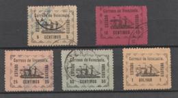 VENEZUELA 1903 – Estado Guayana (Yvert N° 87 à 91) (Lot 1) - Venezuela
