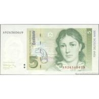 TWN - GERMANY, FEDERAL REPUBLIC 37 - 5 Deutsche Mark 1.8.1991 AXXXXXXXUX UNC - [ 7] 1949-… : RFA - Rep. Fed. De Alemania