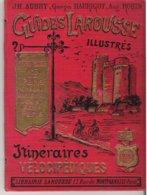 Guides Larousse Illustrés Itinéraires Vélocipédiques Série Rouge N°3 : Paris Créteil Montgeron Juvisy Athis - Strassenkarten