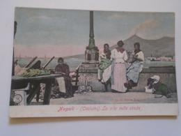 D168272 Italia  Napoli -  Costumi - La Vita Nelle Strade  - Ca 1910 - Napoli (Naples)